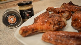 How To Roast Napa Jack's Sweet And Spicy Honey Mustard Turkey Wings: WCKWK