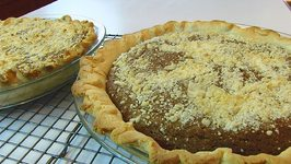 Betty's Crumb Pie -- Christmas