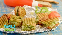 Vegetable Grill Sandwich (Mumbai Roadside)