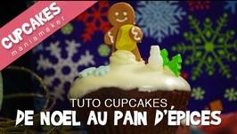 Recette Cupcakes au pain d'pices de Noel