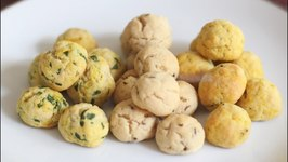 Assorted Makhaniya Biscuits / Jalepeno, Fenugreek Flavored