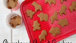 Gingerbread Animal Crackers - Ultimate Cookie Countdown