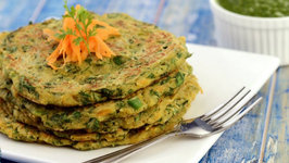 Vegetable Oats Pancake ( Fibre-rich Breakfast)