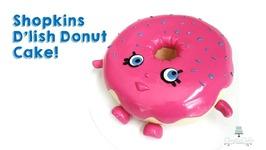 Shopkins D'lish Donut Cake