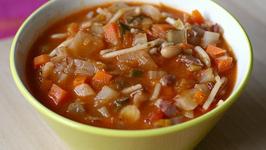 Italian Seasoned Minestrone Soup