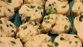 Green Cherry Cookies - Saint Patricks Day