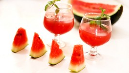 Coconut Watermelon Breeze Refreshing Summer Drink Watermelon coconut summer Drink