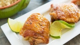Sticky Honey Lime Chicken Recipe quick & easy
