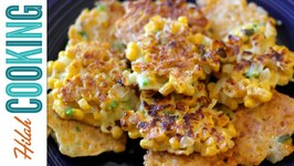 Corn Fritters - How To Make Corn Fritters