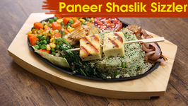 Paneer Shaslik Sizzler  Best Sizzler Recipe  The Bombay Chef - Varun Inamdar