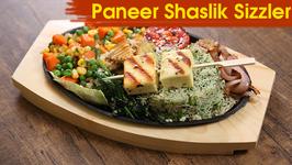 Paneer Shaslik Sizzler  Best Sizzler Recipe  The Bombay Chef - Varun Inamdar