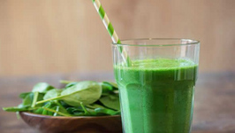 Kid Friendly Banana Green Smoothie