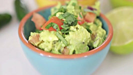 Guacamole - Made with Ripe Avocados and Spiced with Jalapenos