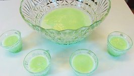 Betty's Lime Sherbet Punch --New Year's Eve (Nonalcoholic)