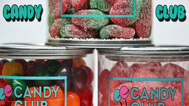 Kids Taste Test Candy Club - Super Sour Sweet Fruits, Tangy Wild Strawberry, Salt Water Taffy
