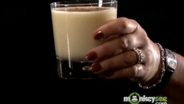 Winter Holiday Party Drinks - How To Make Whiskey Eggnog