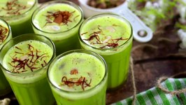 Green Kitchen - Green Khus Thandai - Quick & Easy Recipe