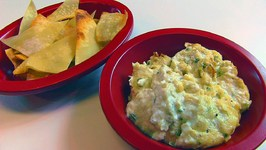 Betty's Hot Crab Dip and Wonton Chips