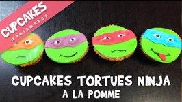 Cupcakes Tortues Ninja  la pomme