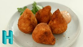 How To Make Coxinha! Brazilian Chicken Croquettes