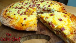Aussie Bacon And Egg Pizza