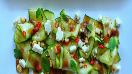 Healthy Zucchini Carpaccio