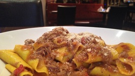 How To Cook Italian Pappardelle Pasta Lamb Ragu