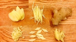 5 Ways to Cut Ginger for Chinese Cooking