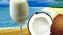 Virgin Pina Colada - Mocktail Recipe - Non Alcoholic Beverage