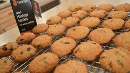 How to Bake Haskap Oatmeal Cookies
