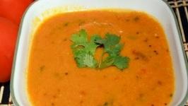 Tomato Dal- Tomato Pappu- Indian Vegetarian