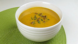 Brittany Allyn - Savor the Flavors - Carrot Barley Soup