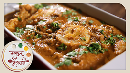 Egg Curry  Dhaba Style Anda Curry  Recipe by Archana in Marathi  Easy & Quick