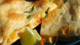 Easy Crab Quesadillas - How to Make Crab Quesadillas