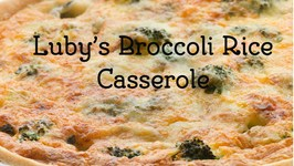 How To Make Luby's Brocolli Rice Casserole