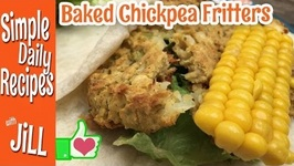 More Chickpea Fritters Talk, this time BAKED