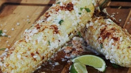 Mexican Style Grilled Corn on the Cob (Elote)