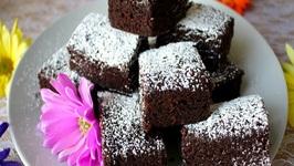 Easy Microwave Brownie - How To Make 5 Minute No Bake Brownies