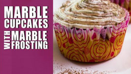 Marble Cupcakes With Marble Frosting
