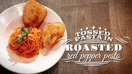 Pasta In Red Pepper Pesto  Quick Easy Recipe