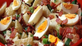 Classic Potato Salad -With Bacon And Egg