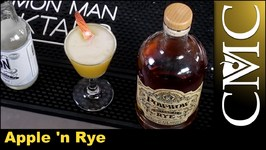 The Apple 'n Rye Cocktail, Thanksgiving Cocktail