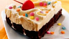 Malibu Brownie Torte