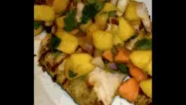 Chicken Fajitas With Mango Salsa