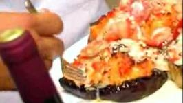 Crab Stuffed Eggplant