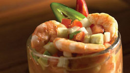 Shrimp Cocktail With Tomato Juice