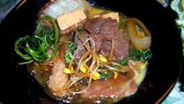 Sukiyaki With Water Chestnuts