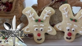 Reindeer Cookies - Christmas Recipe