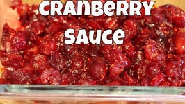 The Easiest Homemade Cranberry Sauce Ever