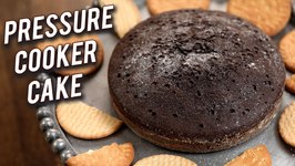 How To Make Pressure Cooker Cake - Marie Biscuit Cake - Easy Cake Recipe - Dessert By Ruchi Bharani